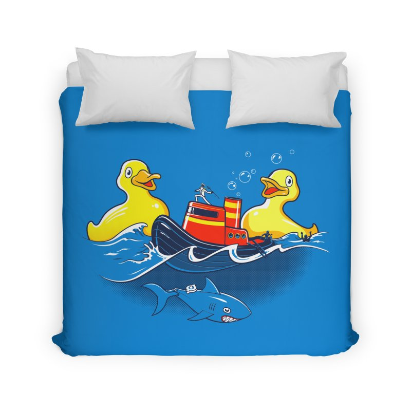 Quack Attack Home Duvet by thunderpeel