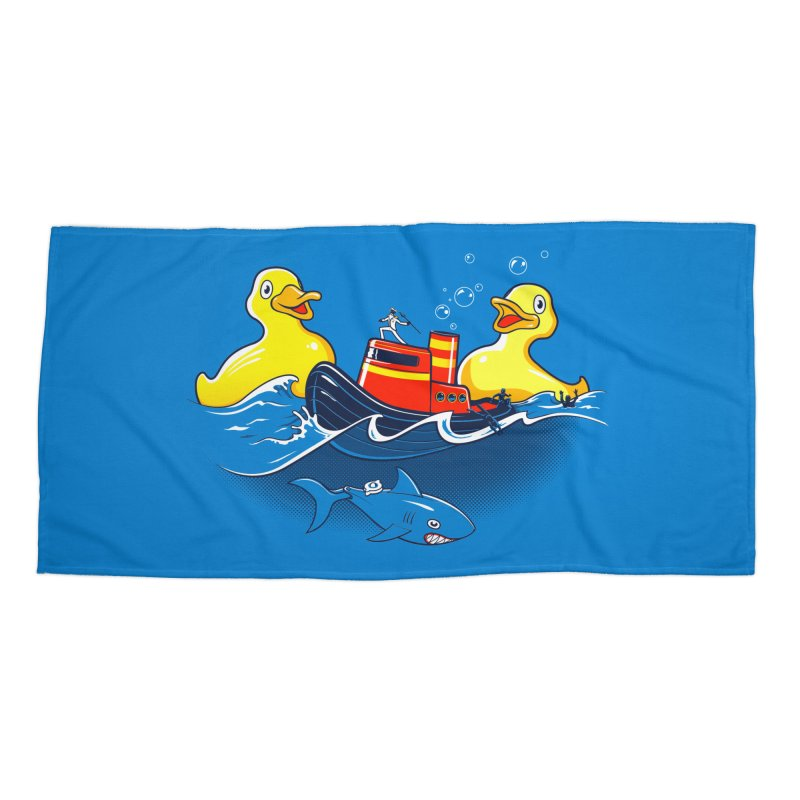 Quack Attack Accessories Beach Towel by thunderpeel