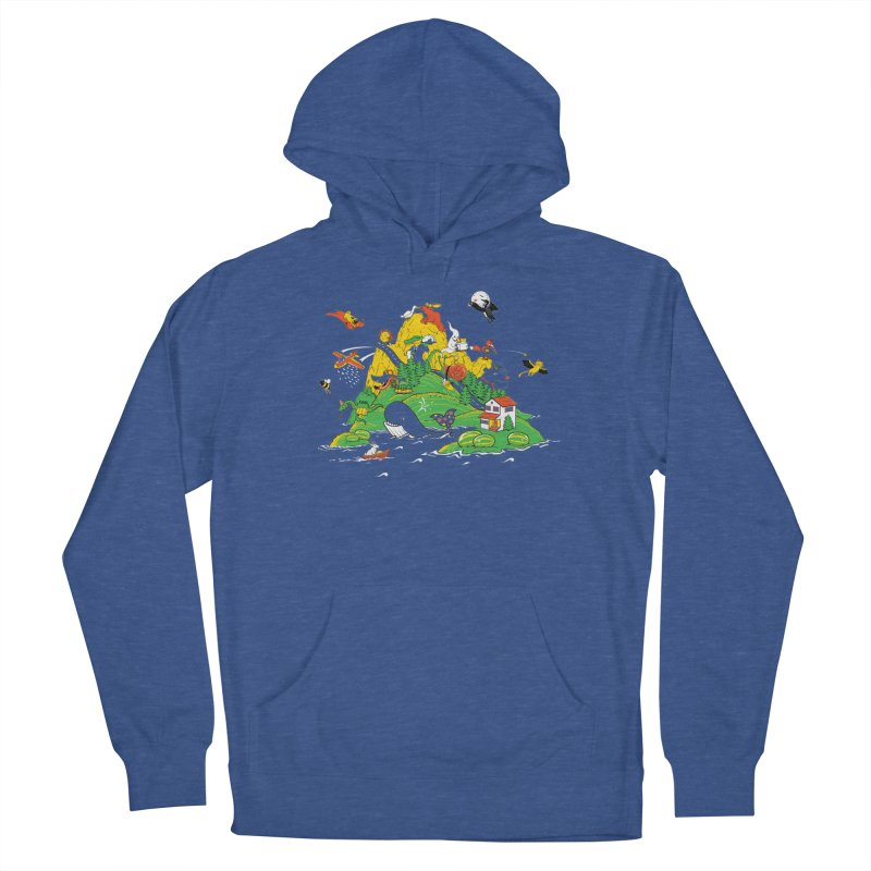 Down by the Bay Men's Pullover Hoody by thunderpeel