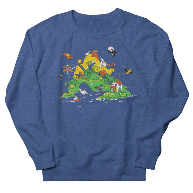 Down by the Bay Men's French Terry Sweatshirt by thunderpeel