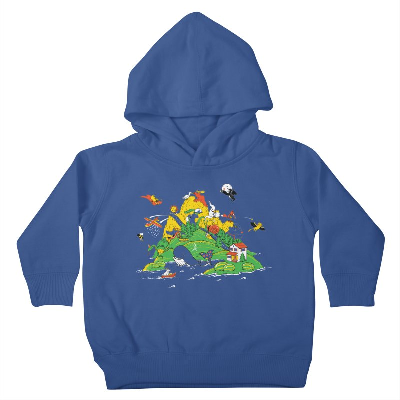 Down by the Bay Kids Toddler Pullover Hoody by thunderpeel