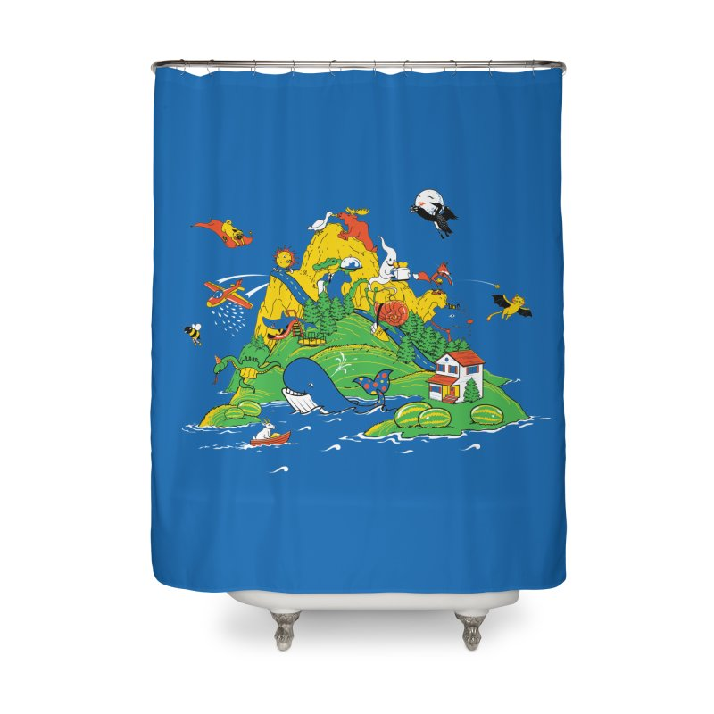 Down by the Bay Home Shower Curtain by thunderpeel