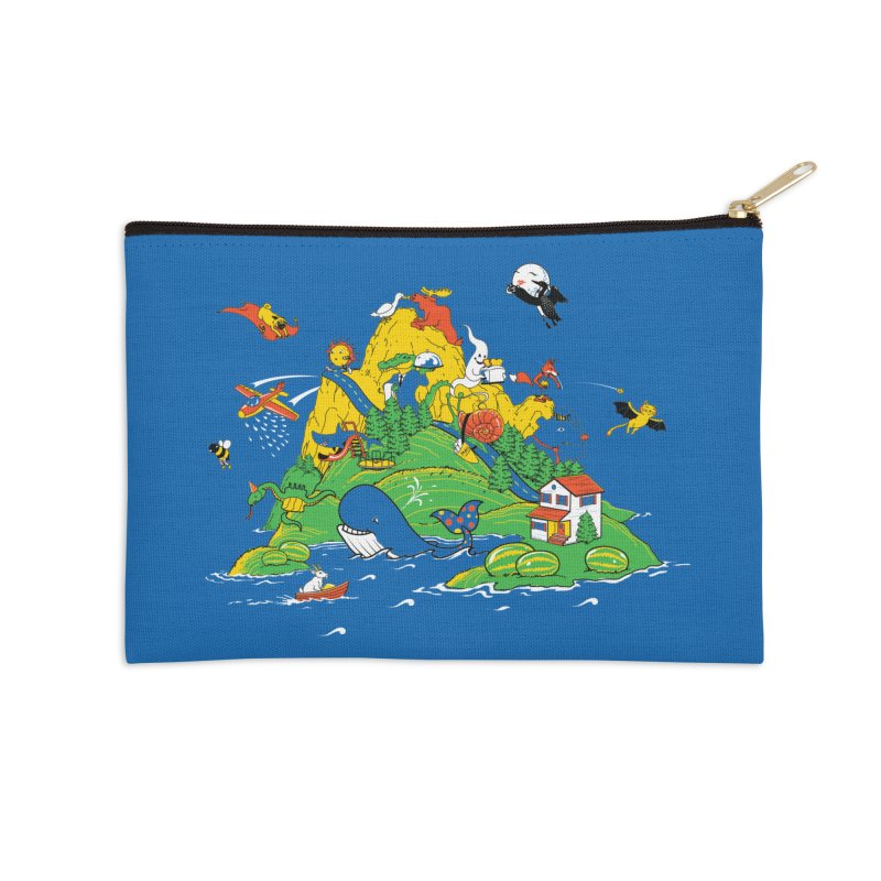 Down by the Bay Accessories Zip Pouch by thunderpeel