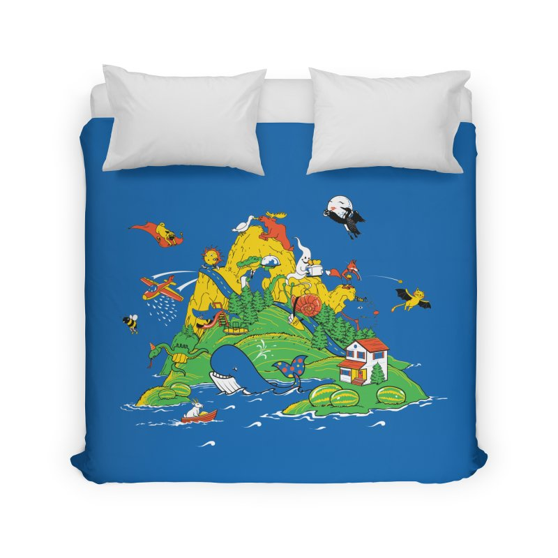 Down by the Bay Home Duvet by thunderpeel