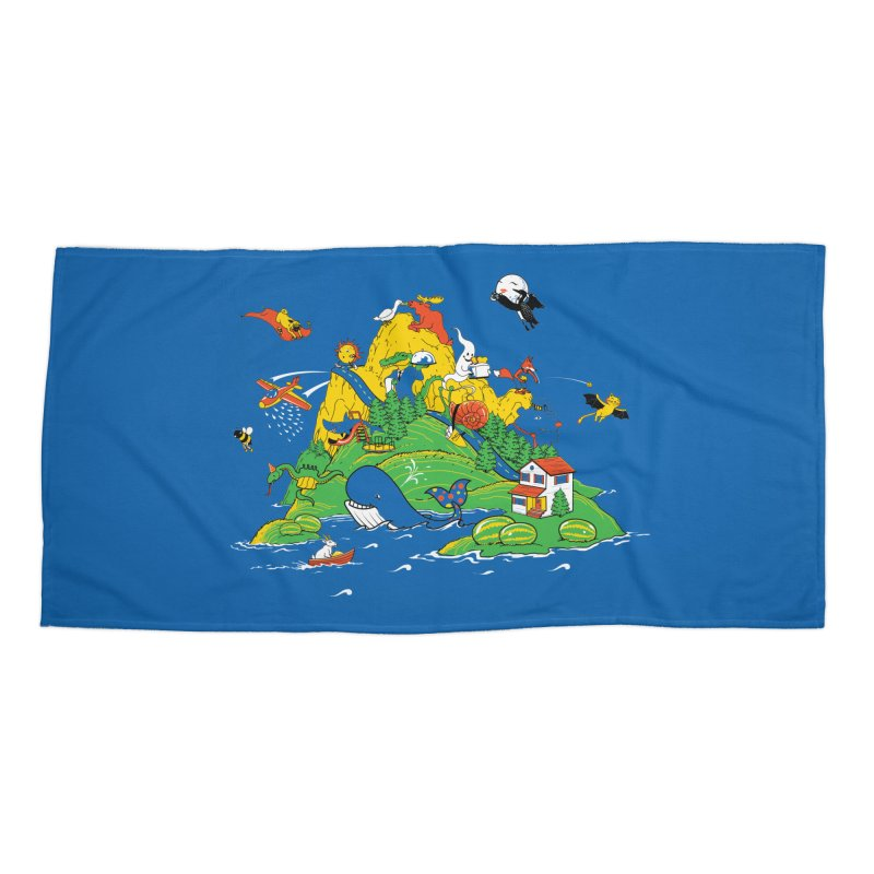 Down by the Bay Accessories Beach Towel by thunderpeel
