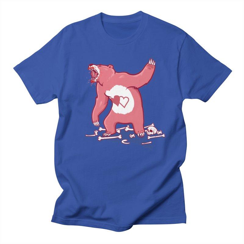 Terror Bear Men's T-Shirt by thunderpeel