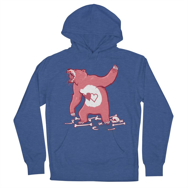 Terror Bear Women's French Terry Pullover Hoody by thunderpeel