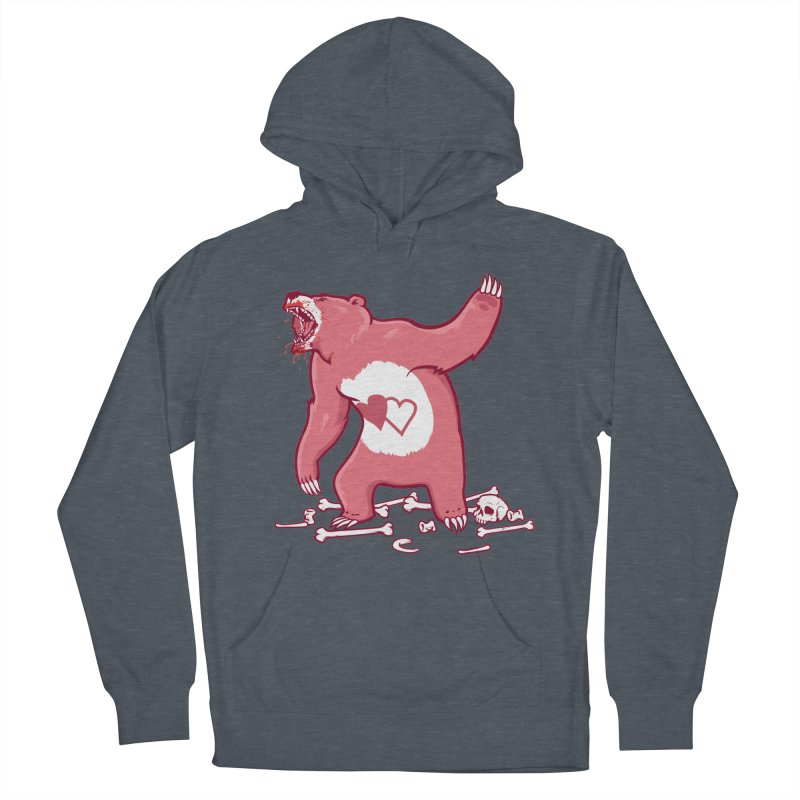 Terror Bear Men's French Terry Pullover Hoody by thunderpeel