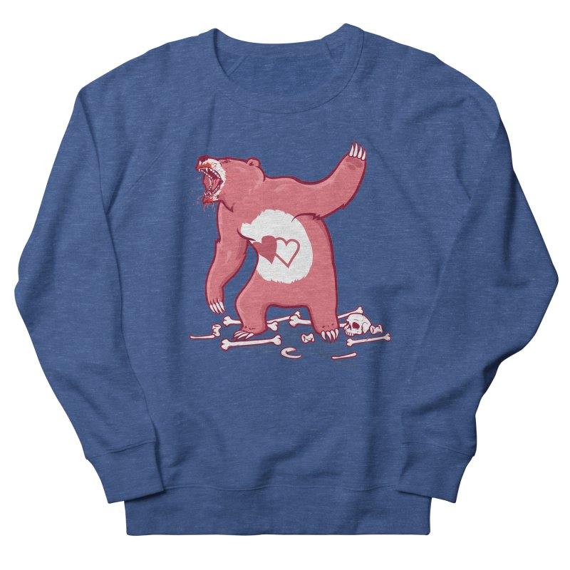 Terror Bear Men's Sweatshirt by thunderpeel