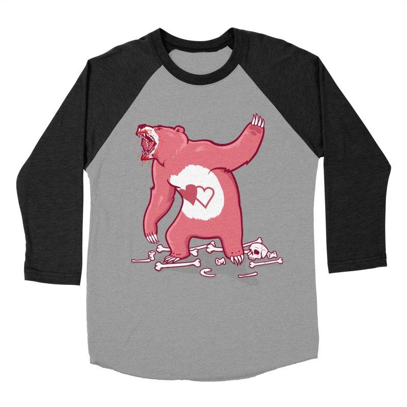 Terror Bear Men's Baseball Triblend Longsleeve T-Shirt by thunderpeel