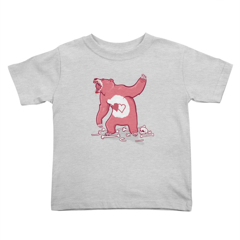 Terror Bear Kids Toddler T-Shirt by thunderpeel