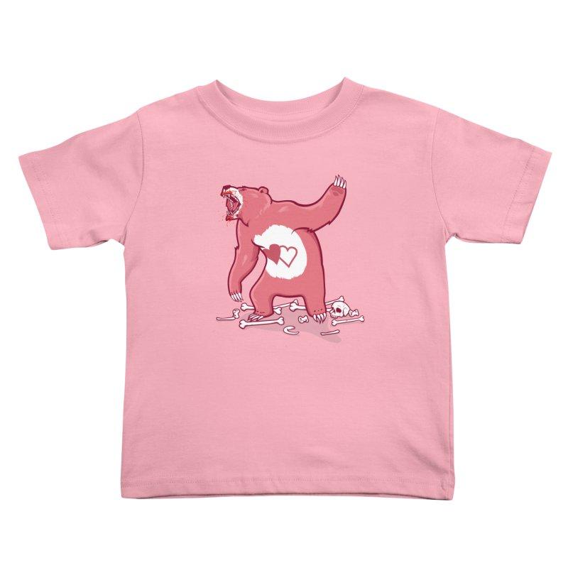 Terror Bear Kids Toddler T-Shirt by thunderpeel