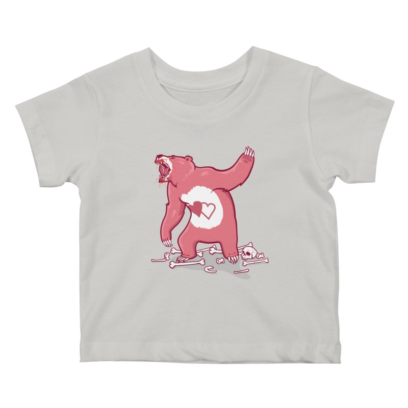Terror Bear Kids Baby T-Shirt by thunderpeel