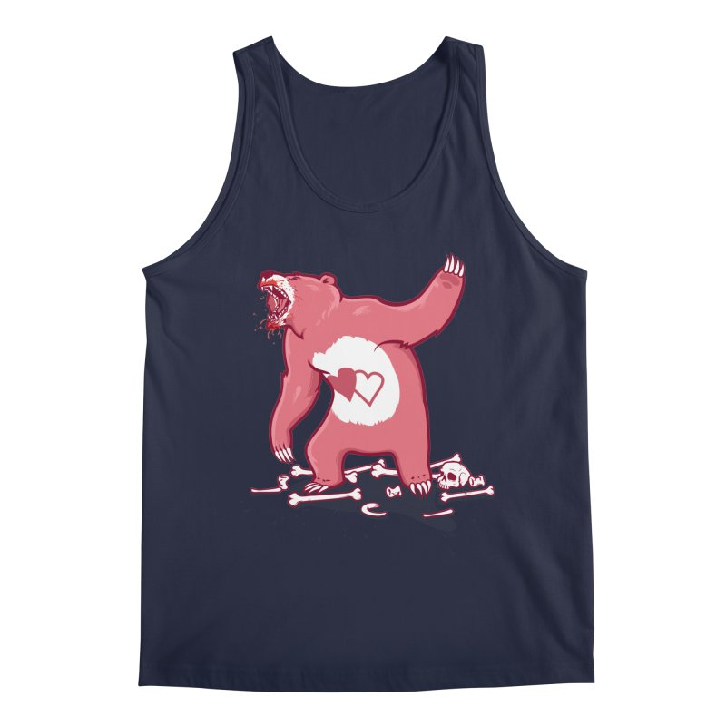 Terror Bear Men's Tank by thunderpeel