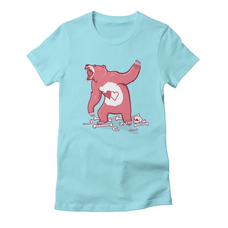 Terror Bear Women's T-Shirt by thunderpeel