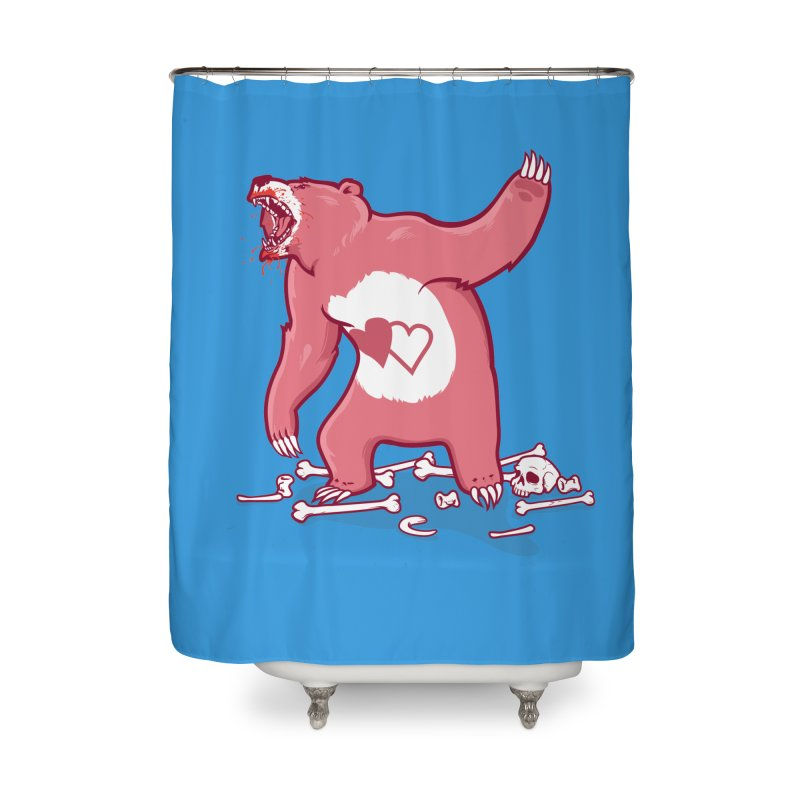 Terror Bear Home Shower Curtain by thunderpeel