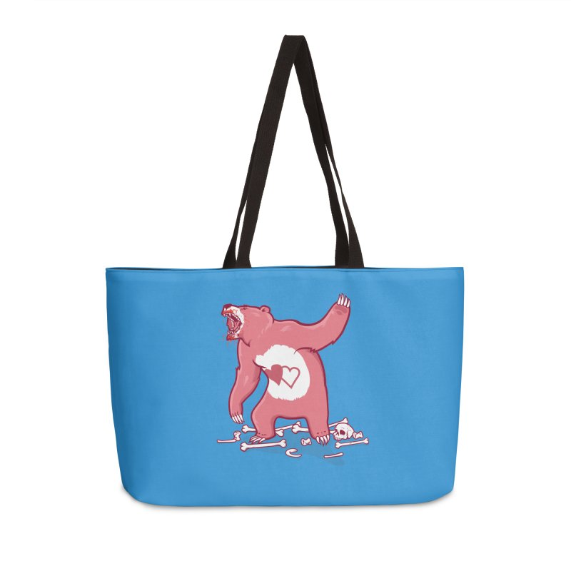 Terror Bear Accessories Bag by thunderpeel