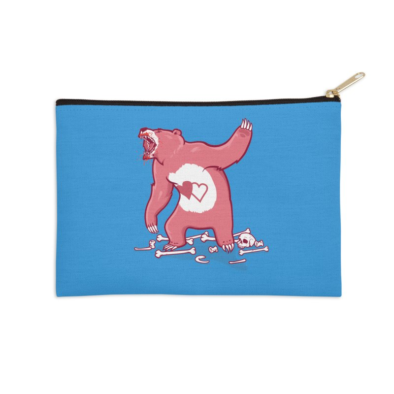 Terror Bear Accessories Zip Pouch by thunderpeel