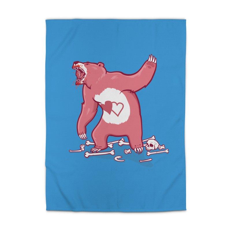 Terror Bear Home Rug by thunderpeel