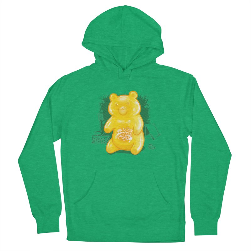 Grizzly Gummi Men's Pullover Hoody by thunderpeel