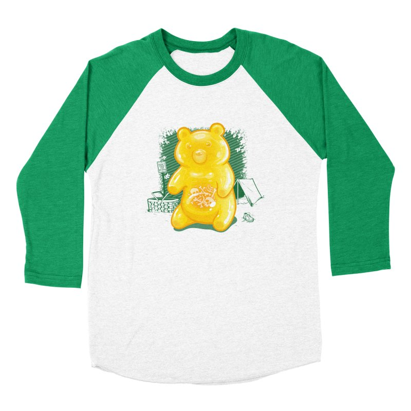 Grizzly Gummi Men's Longsleeve T-Shirt by thunderpeel