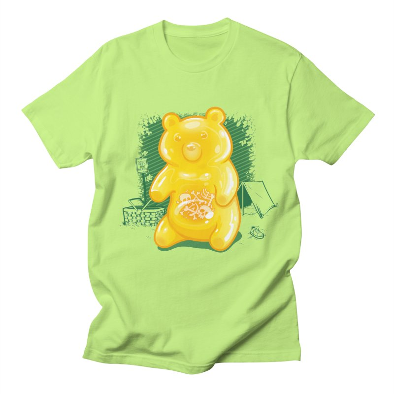Grizzly Gummi Men's Regular T-Shirt by thunderpeel
