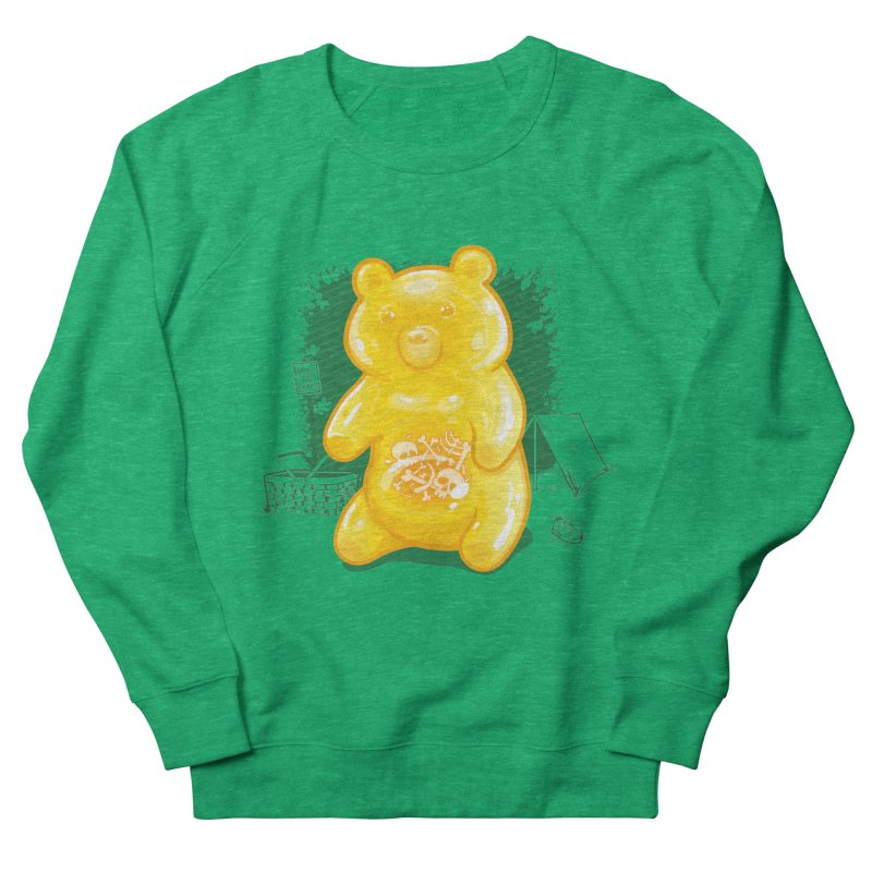 Grizzly Gummi Men's French Terry Sweatshirt by thunderpeel