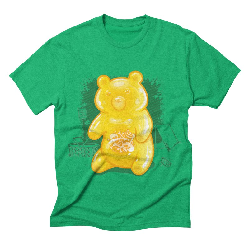 Grizzly Gummi Men's Triblend T-shirt by thunderpeel