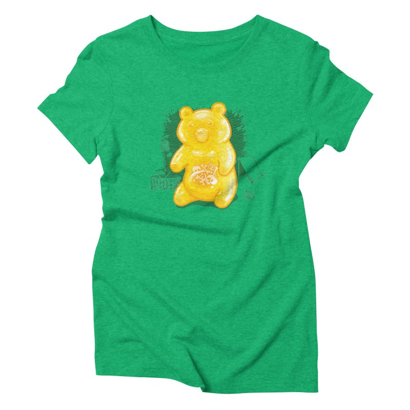 Grizzly Gummi Women's T-Shirt by thunderpeel