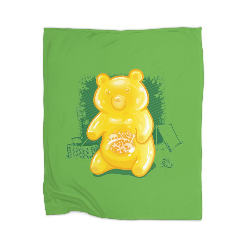 Grizzly Gummi Home Blanket by thunderpeel