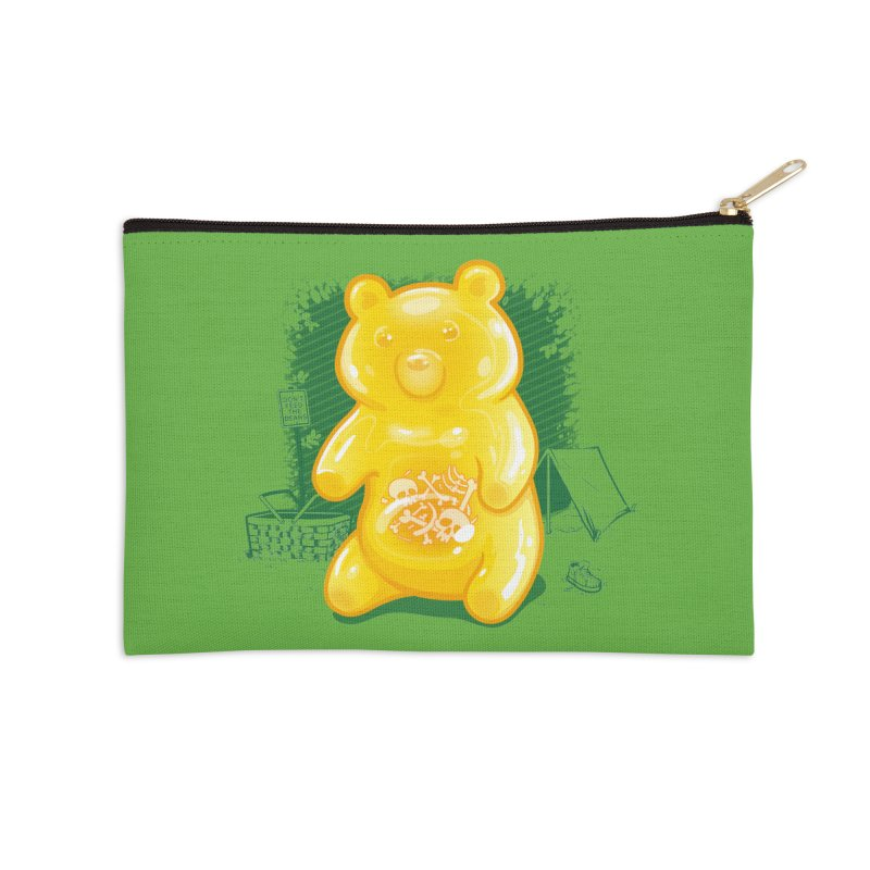 Grizzly Gummi Accessories Zip Pouch by thunderpeel