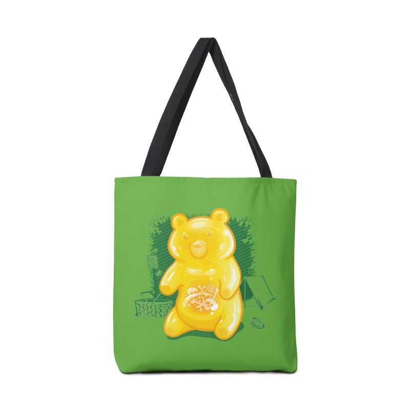 Grizzly Gummi Accessories Bag by thunderpeel