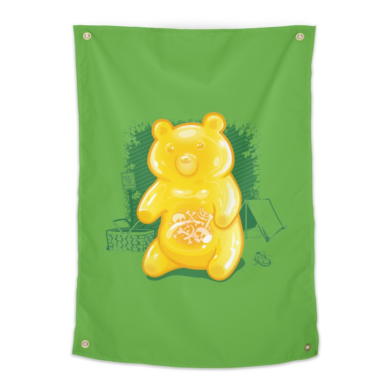 Grizzly Gummi Home Tapestry by thunderpeel