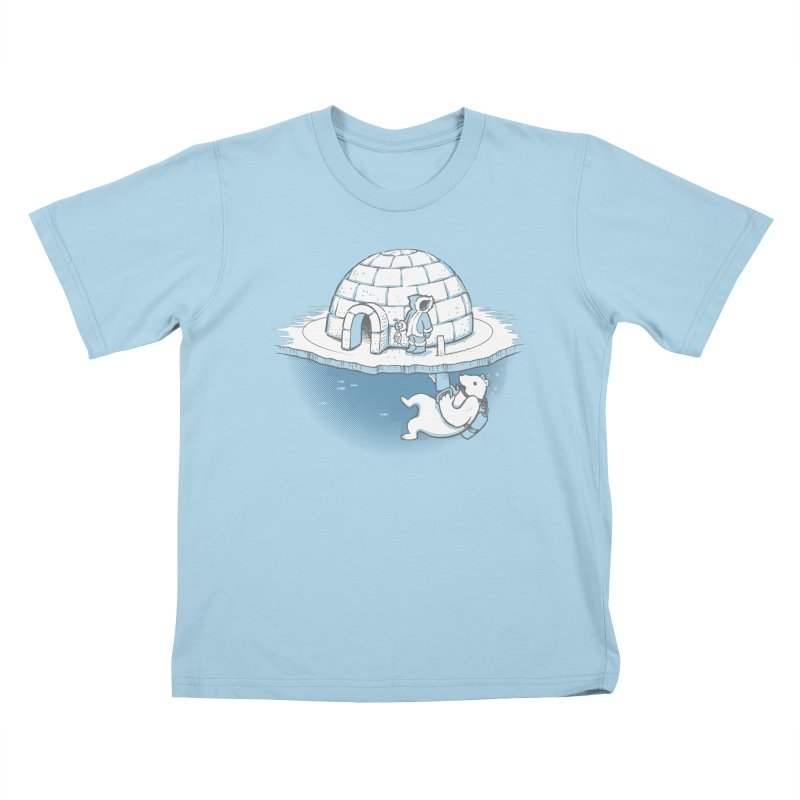 Sneak Attack Kids T-Shirt by thunderpeel
