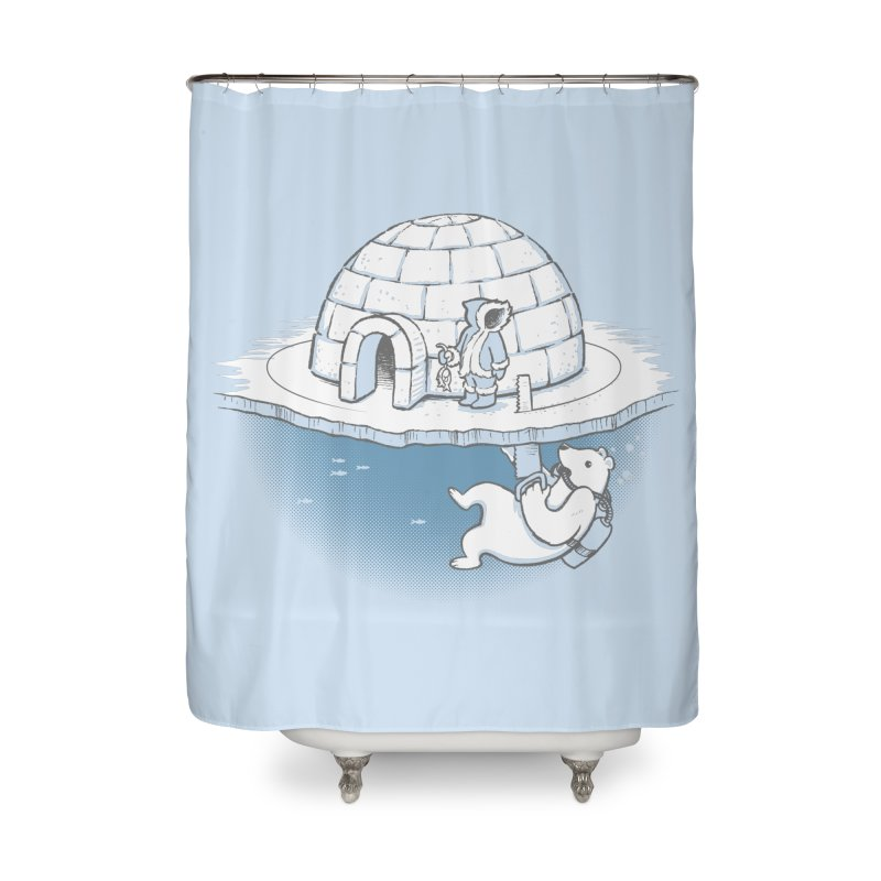 Sneak Attack Home Shower Curtain by thunderpeel