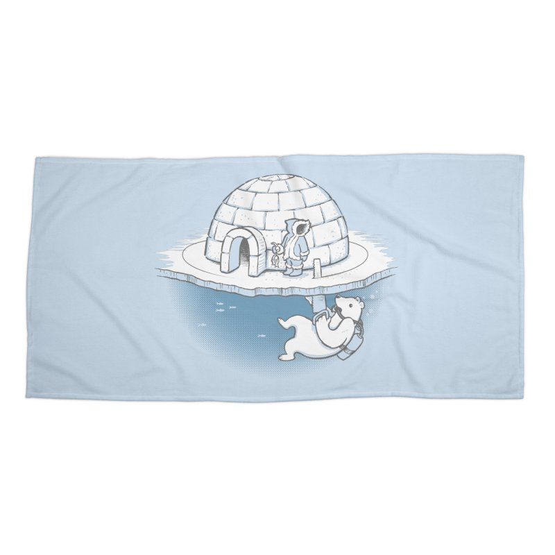 Sneak Attack Accessories Beach Towel by thunderpeel