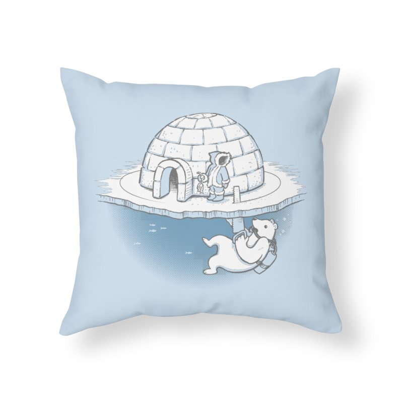 Sneak Attack Home Throw Pillow by thunderpeel