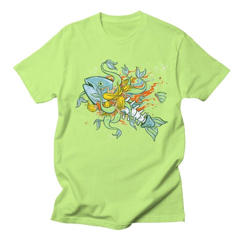 Feeding Frenzy Men's T-shirt by thunderpeel