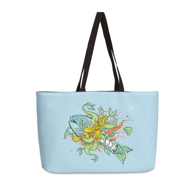 Feeding Frenzy Accessories Weekender Bag Bag by thunderpeel