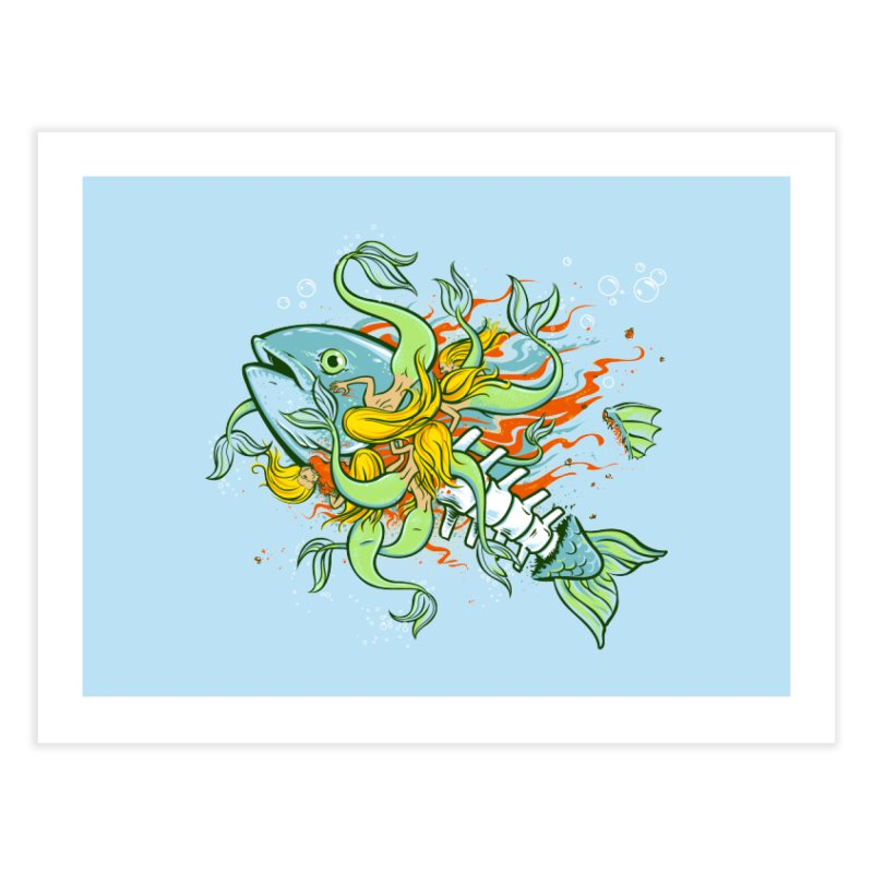 Feeding Frenzy Home Fine Art Print by thunderpeel