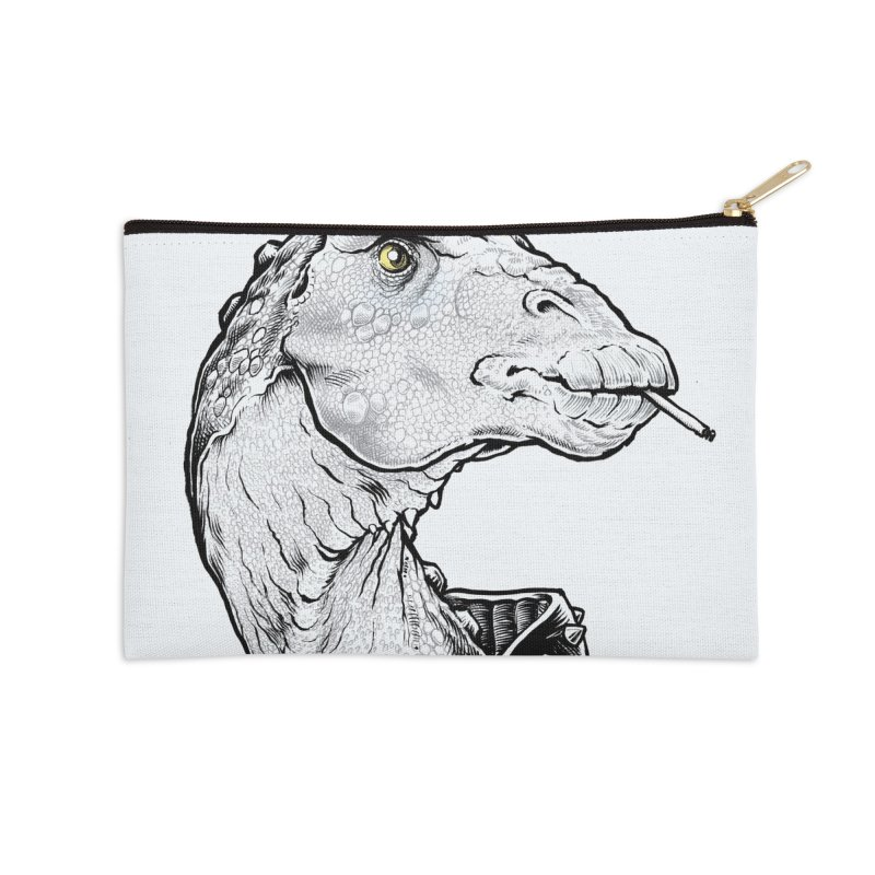Paleopunk Accessories Zip Pouch by thunderpeel