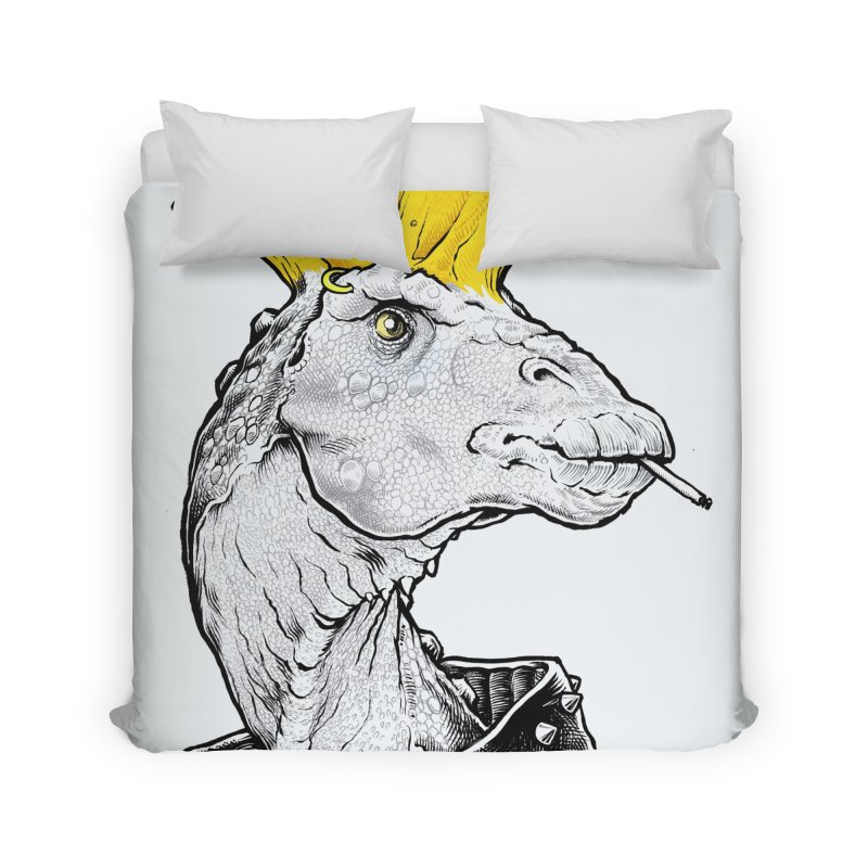 Paleopunk Home Duvet by thunderpeel