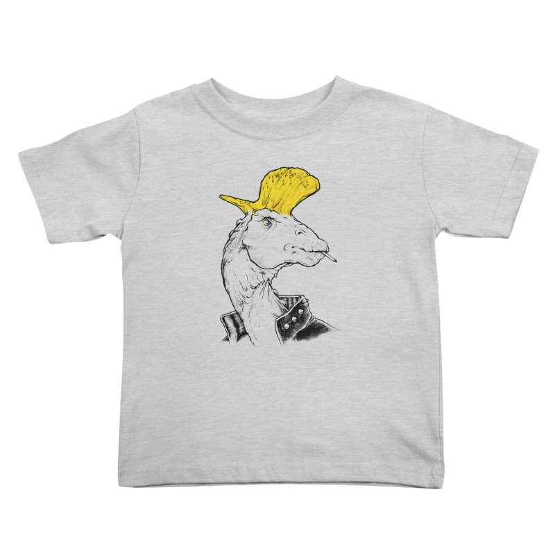 Paleopunk Kids Toddler T-Shirt by thunderpeel