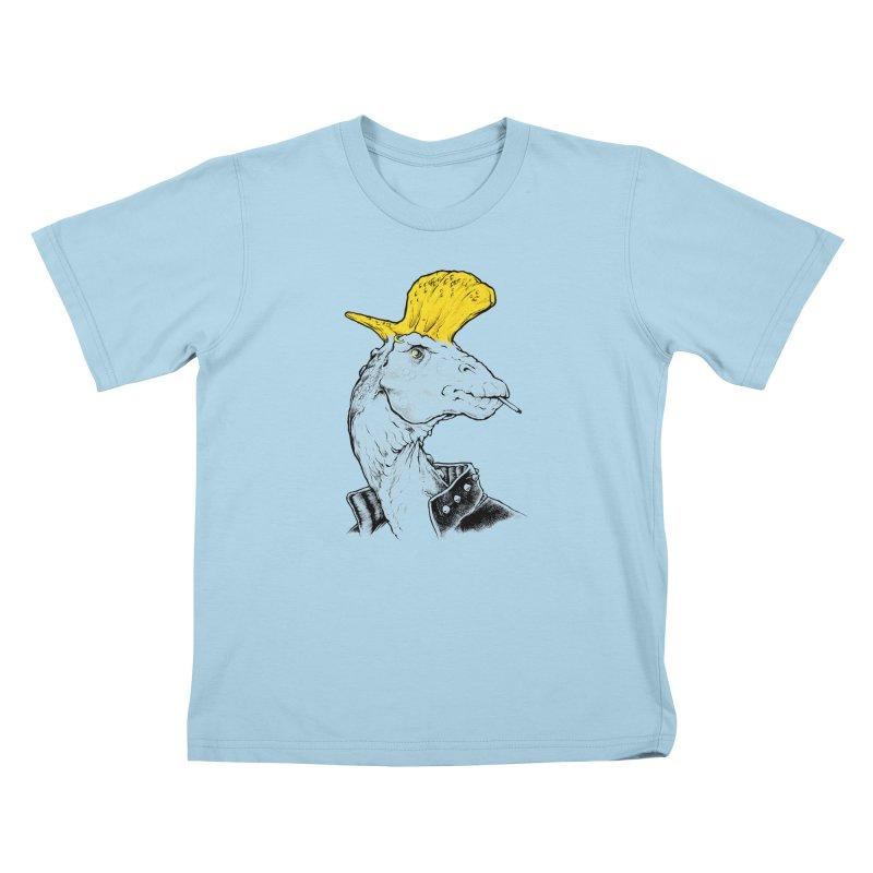 Paleopunk Kids T-Shirt by thunderpeel