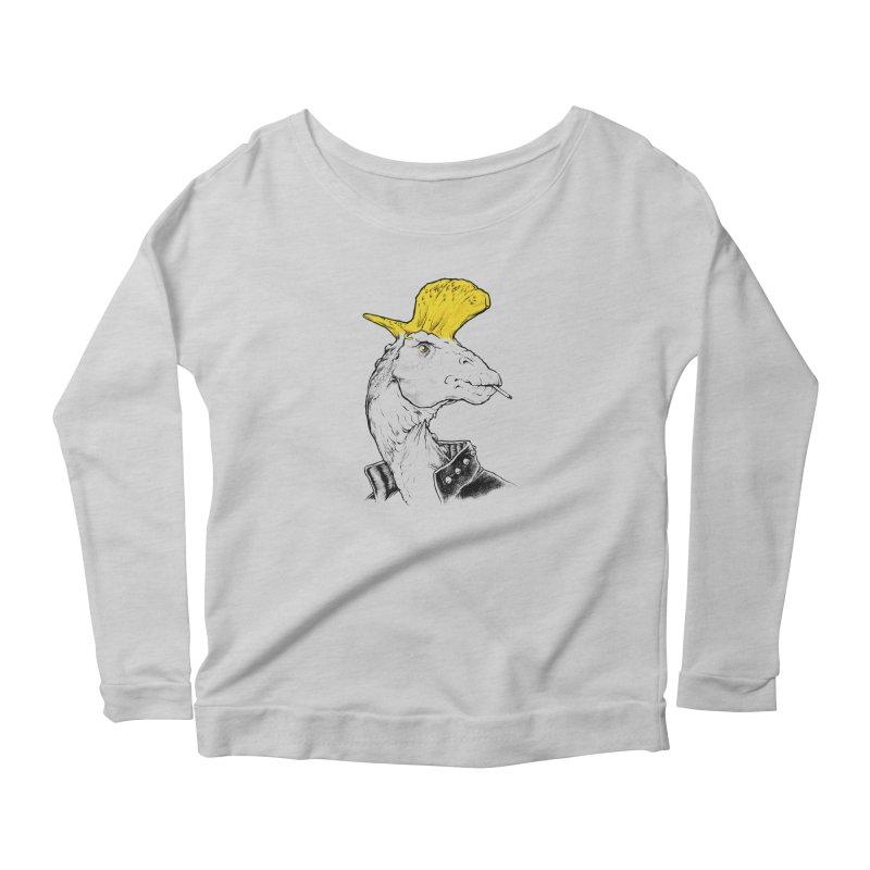 Paleopunk Women's Longsleeve T-Shirt by thunderpeel