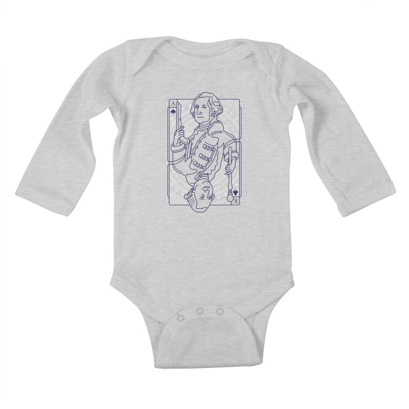 George vs George Kids Baby Longsleeve Bodysuit by thunderpeel