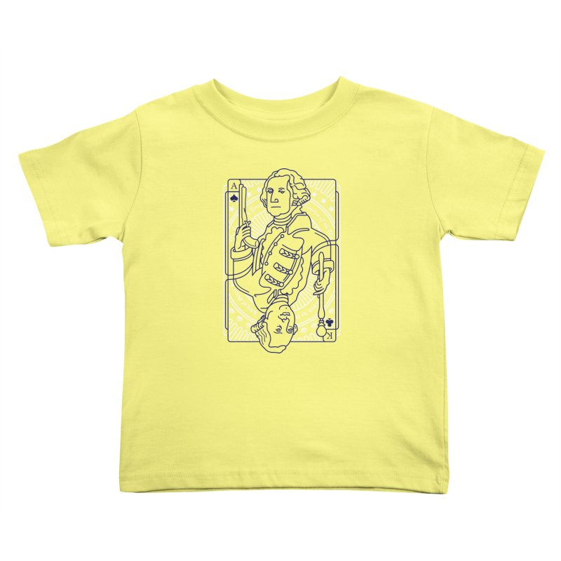 George vs George Kids Toddler T-Shirt by thunderpeel