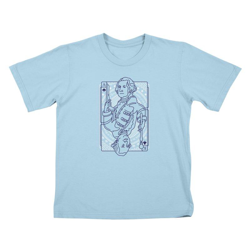 George vs George Kids T-Shirt by thunderpeel