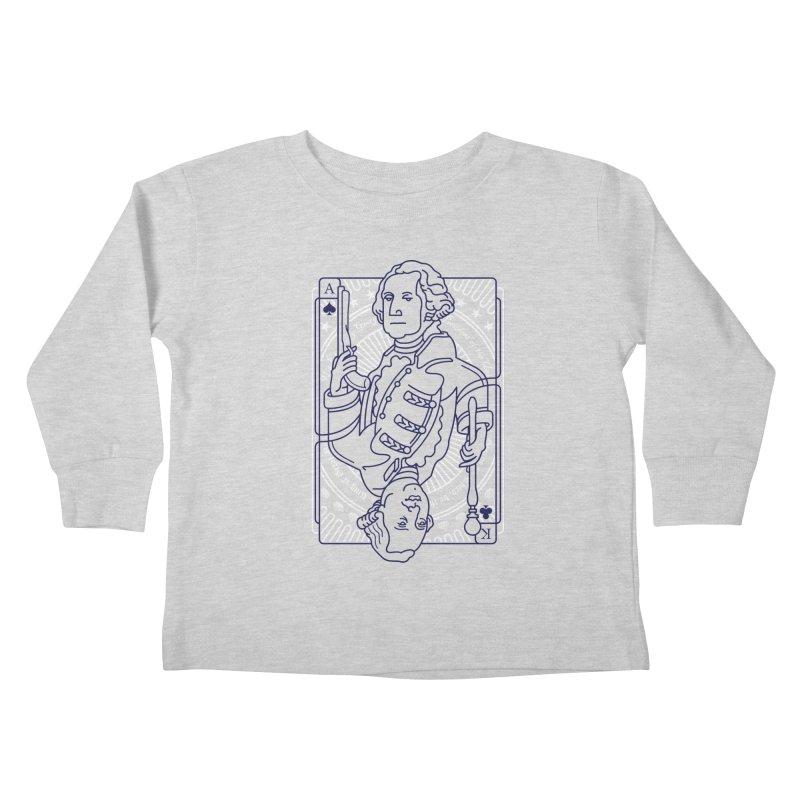 George vs George Kids Toddler Longsleeve T-Shirt by thunderpeel
