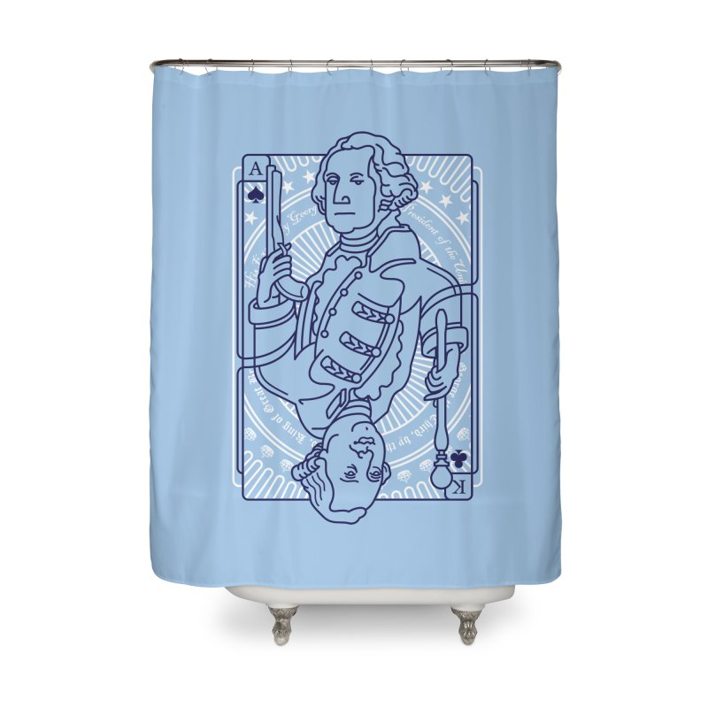 George vs George Home Shower Curtain by thunderpeel